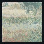 "Vincent van Gogh | Garden in Bloom, Arles, 1888 Stone Coaster<br><div class=""desc"">Image Collection Number:  XIR76792  Garden in Bloom,  Arles,  July 1888 (oil on canvas). Gogh,  Vincent van (1853-90) oil on canvas. Private Collection Giraudon.  1888</div>"