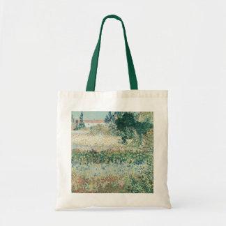 Vincent van Gogh   Garden in Bloom, Arles, 1888 Tote Bag