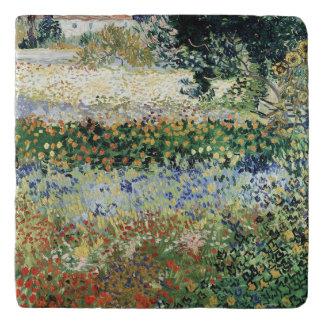 Vincent van Gogh | Garden in Bloom, Arles, 1888 Trivet