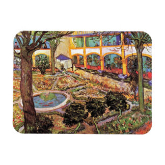 Vincent Van Gogh - Garden Of The Hospital In Arles Magnet