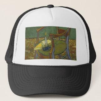 Vincent Van Gogh - Gauguin's Armchair painting Trucker Hat
