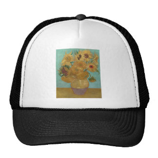 Vincent van Gogh - girasoles Gorras