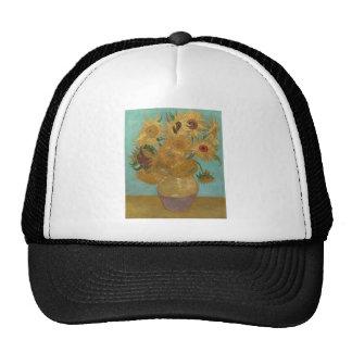 Vincent van Gogh - girasoles Gorras De Camionero