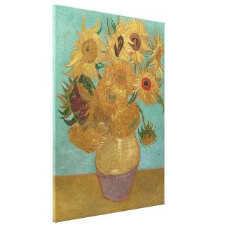 Vincent van Gogh - girasoles Lienzo Envuelto Para Galerias