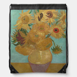 Vincent van Gogh - girasoles Mochila