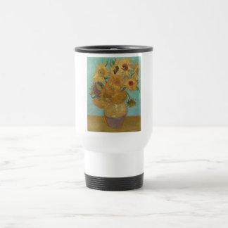 Vincent van Gogh - girasoles Taza De Viaje
