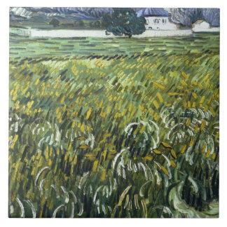 Vincent van Gogh - House at Auvers Ceramic Tile