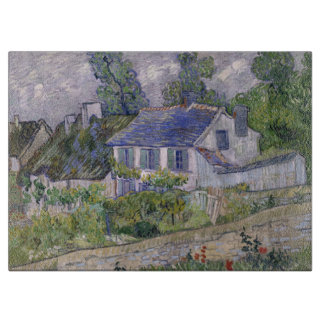 Vincent van Gogh - Houses at Auvers Cutting Board