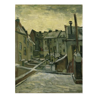Vincent van Gogh Houses seen from the back Source: Postcard