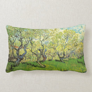 Vincent van Gogh, huerta en flor Cojín