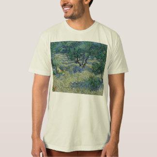 Vincent van Gogh - huerta verde oliva Playera
