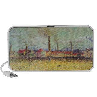 Vincent Van Gogh -  Industrial Plant Painting Travel Speaker