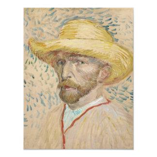 Vincent van Gogh, invitación del autorretrato Invitación 10,8 X 13,9 Cm