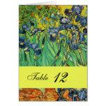 Vincent van Gogh, iris Felicitaciones