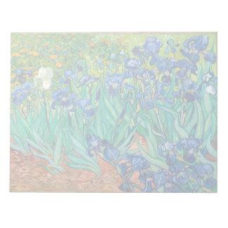 VINCENT VAN GOGH - Irises 1889 Notepad