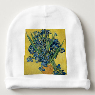 Vincent Van Gogh - Irises Art Work Baby Beanie