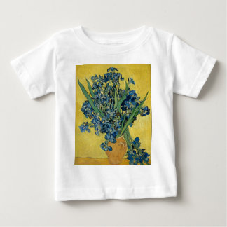Vincent Van Gogh - Irises Art Work Baby T-Shirt