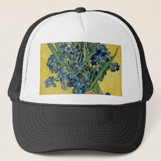 Vincent Van Gogh - Irises Art Work Trucker Hat