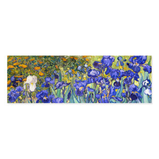 Vincent Van Gogh Irises Business Card
