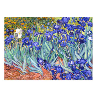 Vincent Van Gogh Irises Business Card Templates