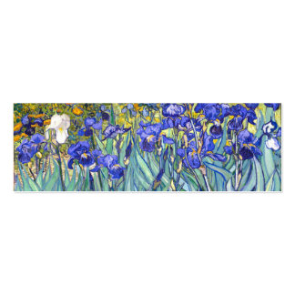 Vincent Van Gogh Irises Business Card Template