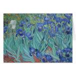 Vincent Van Gogh - Irises Card