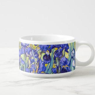 Vincent Van Gogh Irises Floral Vintage Fine Art Bowl