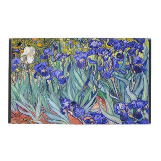 Vincent Van Gogh Irises Floral Vintage Fine Art iPad Folio Cases