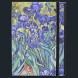 """Vincent Van Gogh Irises Floral Vintage Fine Art iPad Pro 12.9&quot; Case<br><div class=""""desc"""">Vincent Van Gogh Blue Irises Floral Fine Art Irises is one of many paintings of irises by the Dutch Post-Impressionist artist Vincent van Gogh. Like many artists of his time Van Gogh was influenced by Japanese ukiyo-e woodblock prints. The strong outlines, unusual angles, including close-up views, is a typical element...</div>"""