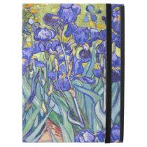 """Vincent Van Gogh Irises Floral Vintage Fine Art iPad Pro 12.9"""" Case"""