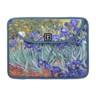 Vincent Van Gogh Irises Floral Vintage Fine Art Sleeve For MacBook Pro