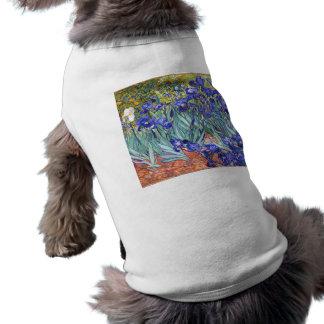 Vincent Van Gogh Irises Floral Vintage Fine Art Tee