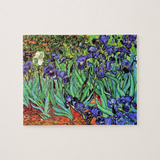 Vincent Van Gogh - Irises - Flower Lover Fine Art Jigsaw Puzzle