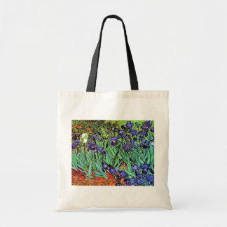 Vincent Van Gogh - Irises - Flower Lover Fine Art Tote Bag