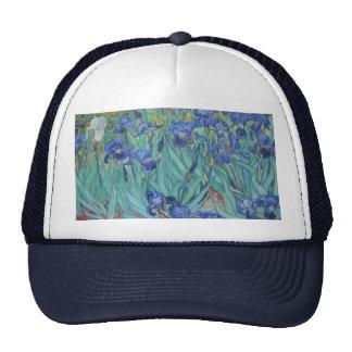 Vincent Van Gogh - Irises Mesh Hats