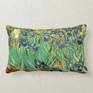 Vincent van Gogh,Irises Throw Pillows