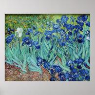Vincent van Gogh, Irises. Poster