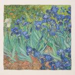 "Vincent Van Gogh - Irises Scarf<br><div class=""desc"">Irises / Iris - Vincent Van Gogh,  1889</div>"