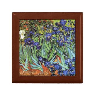 Vincent Van Gogh - Irises Trinket Boxes