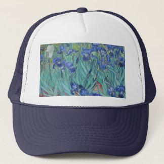 Vincent Van Gogh - Irises Trucker Hat