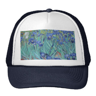Vincent Van Gogh - Irises Trucker Hat