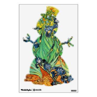 Vincent van Gogh,Irises Wall Decal