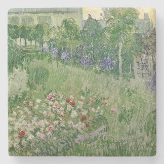 Vincent van Gogh jardín del   Daubigny, 1890 Posavasos De Piedra
