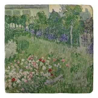 Vincent van Gogh jardín del   Daubigny, 1890 Salvamanteles