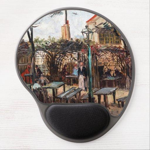 Vincent Van Gogh - La Guinguette on Montmartre Gel Mouse Pad