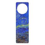 Vincent van Gogh - la noche estrellada (1889) Colgante Para Puerta