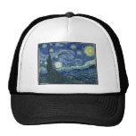 Vincent van Gogh - la noche estrellada (1889) Gorro