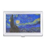 Vincent van Gogh - la noche estrellada (1889) Caja De Tarjetas De Negocios