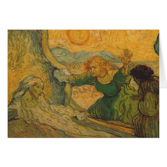 Vincent Van Gogh - La Résurrection de Lazare Card