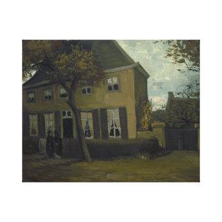 Vincent van Gogh - la vicaría en Nuenen Impresiones De Lienzo